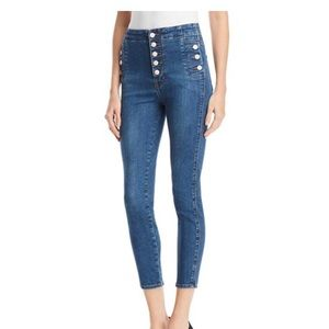 J Brand Natasha cropped skinny, size 28